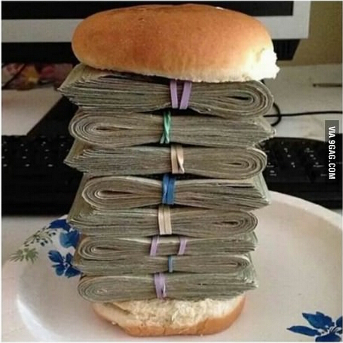 我最爱吃的汉堡