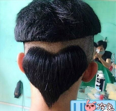 表白不成功?还是发型不对