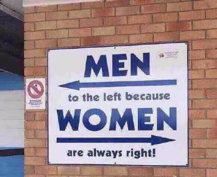 给你们科普一下男左女右的由来