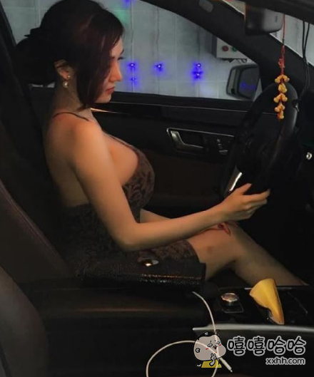 开车要系安全带你知道吗?胸大不是理由!