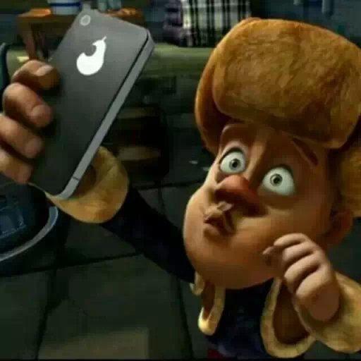"""强哥说,刚刚买的苹果手机,总是感觉那里不对劲"""",我是不是被骗了?/发呆/疑问/酷,总是感觉那里不对劲"""",我是不是被骗了?+"""