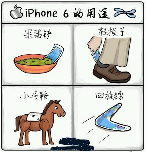 [cp]iPhone 6的用途。