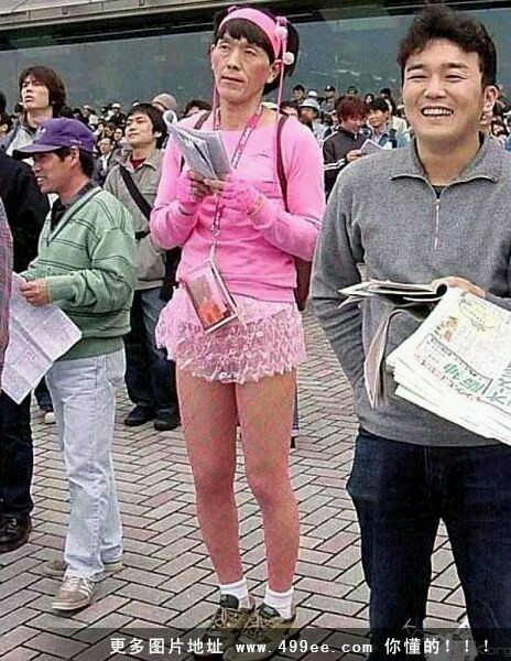 日本就是变态。鸡皮疙瘩都起来了。