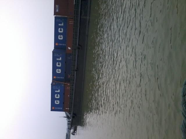 这船装的货难道高潮了?