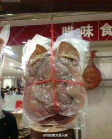 在超市看到吓一跳,这难道是天蓬元帅下凡不小心被压缩了?求各地友友爆猴哥在哪?
