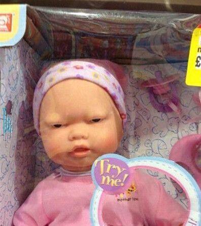 就你这个表情和心态也配做娃娃?