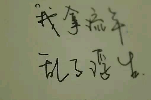 汉字是一种书写的艺术,按写意程度可分为:楷书、行书、草书和处方。