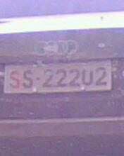 不说了,看图片,这车牌足以显示他的身份 可惜不能发2张,