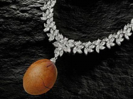 给女朋友买的项链,大家说她会喜欢吗?