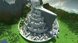 我花了3小时做的,记得赞啊    这款游戏叫我的世界   提好玩的   ,做城堡好累啊