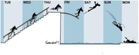 周一到周日跳水一览表