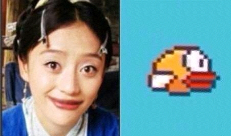 Flappy Bird的作者一定是袁珊珊的粉丝