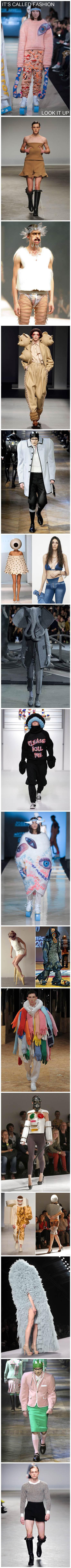 有时候是真的很不懂Fashion 。。。。。很不懂。。。。