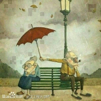 我挺喜欢这幅画的, 即使再生气,还是忍不住关心你。 This is love!!! 这就是爱。