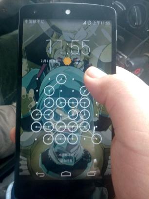 你们的手机的解锁都弱爆了!!