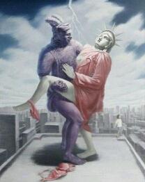 兵马俑与自由女神的爱情!