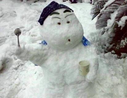 这才叫堆雪人,这才是技术