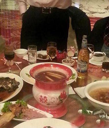 年会上的最后一道大餐~