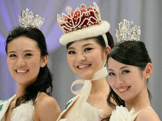 日本小姐三甲,完全无法理解日本人的审美有木有???