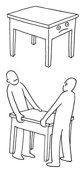 桌子怎么画简笔画步骤