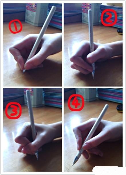 上午和同桌研究了一下握笔方式,所以就很好奇大家是怎样握笔的⊙▽⊙我是3