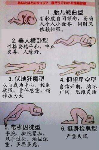 【睡姿看性格】你的睡姿是哪种?/net