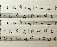 这乐谱。。。。。。。能弹吗?
