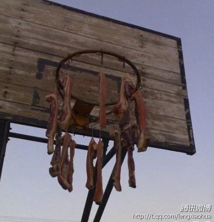 今天去打篮球,去到球场结果……