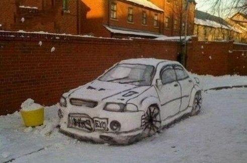 神人最喜欢下雪了