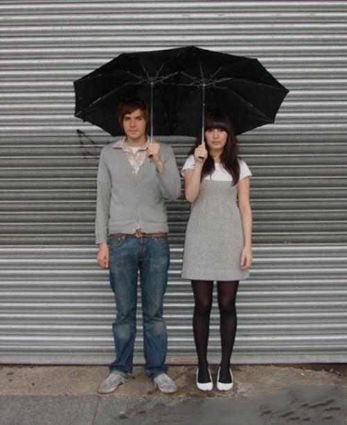 情侣专用雨伞