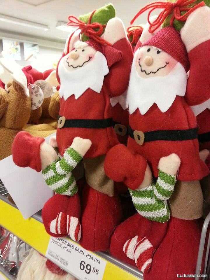 好奇怪的圣诞老人
