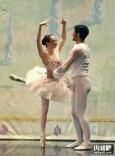 芭蕾舞演员不容易啊!