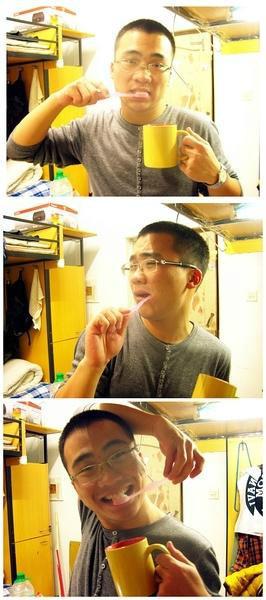 普通青年,文艺青年,2B青年的区别 …………之刷牙