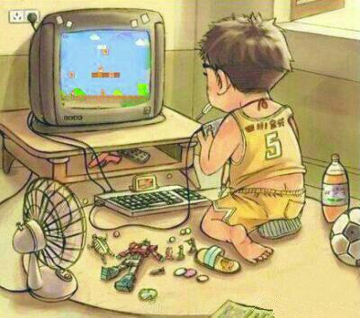 小时候,我们没有手机,没有电脑。。。但那时的我们反而比现在过得要开心要充实。。。