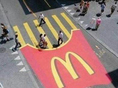 不遵守交通规则会变番茄酱。。。-.-