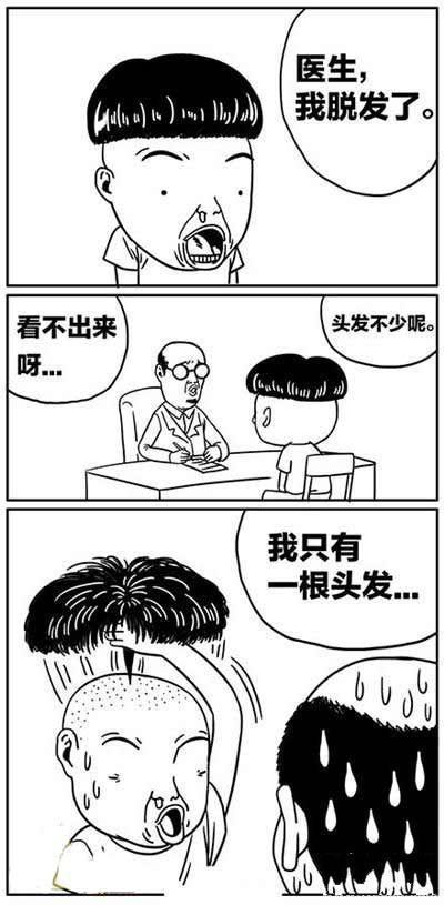 医生,我脱发了