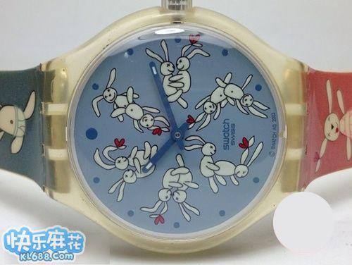 女同事的可爱手表