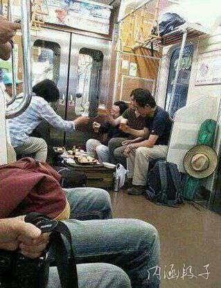 真是地铁自由人才出。