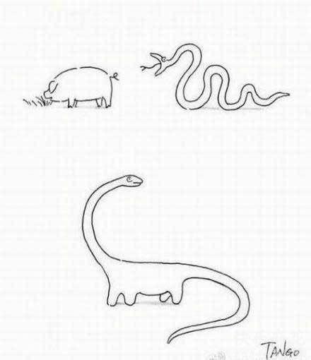 毫无违和感的进化=_=