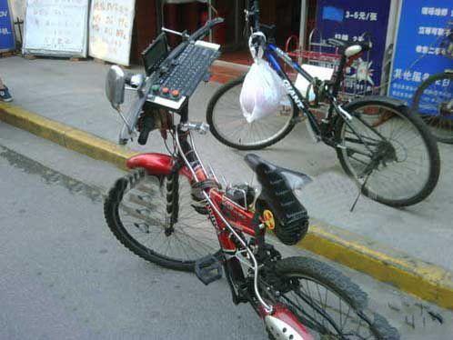 这自行车真心霸气了