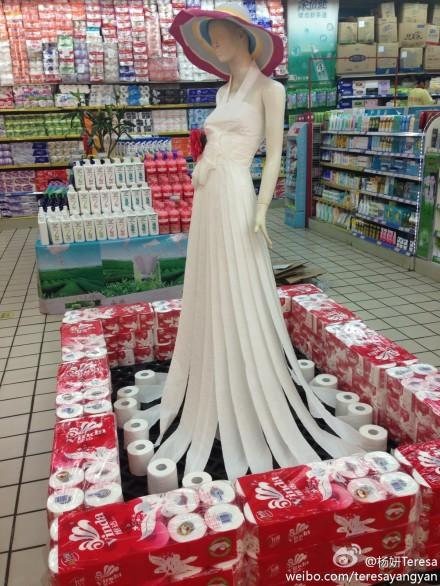 易家坝爱家超市的超市大妈不输其他地方的超市大妈!是真正的设计湿!
