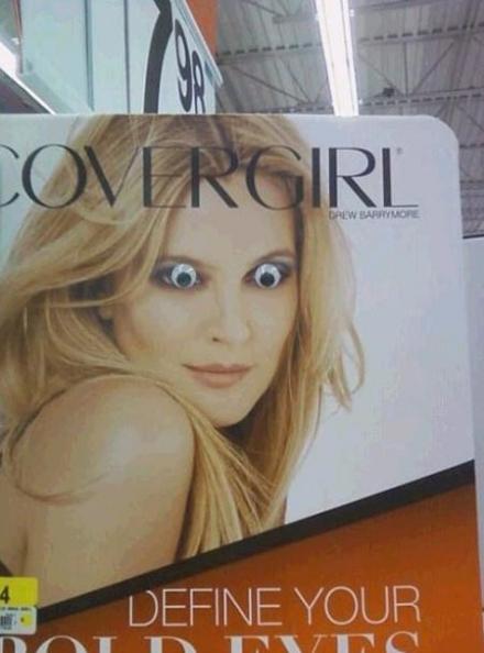 购物广场看到的是想要吓死人吗