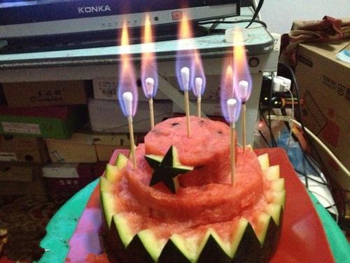 2b青年的生日蛋糕~~(