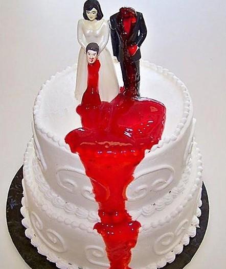 让人难以入嘴的蛋糕    - -! @屌丝控