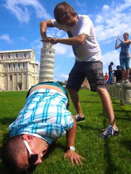 比萨斜塔的正确摄影方式,我和我的小伙伴们都惊呆了!