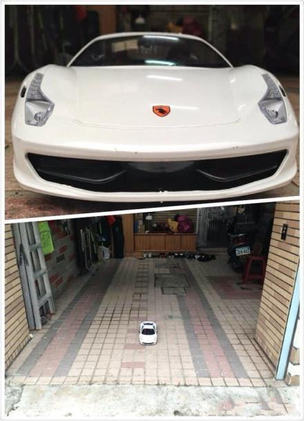 朋友买了辆跑车,太尼玛帅了!更不可思议的是他家的车库,简直大的吓人。。。