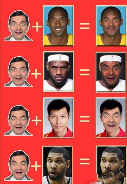 当憨豆和NBA球员结合…