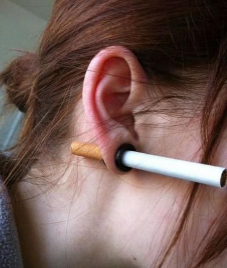打孔耳环的用途