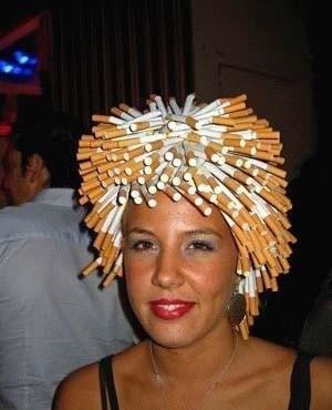 想抽烟么?拔根头发就行