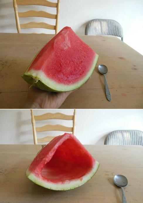 给女朋友留一块西瓜吃,她会不会骂我?
